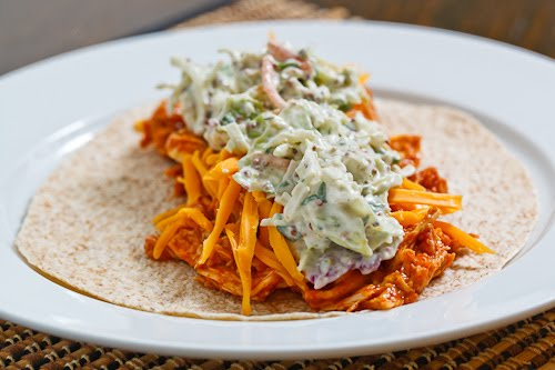 Jerked Pulled Pork Wraps With Mango And Banana Relish Recipes ...