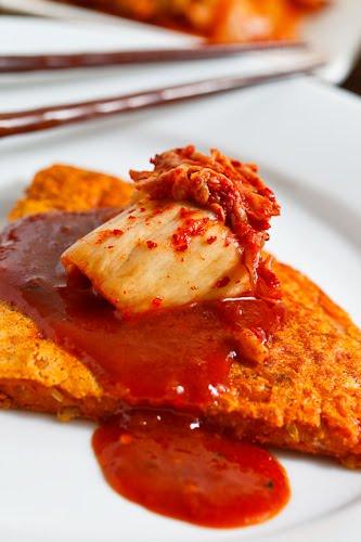 Kimchi Pajeon (Kimchi Pancake or Pizza) on Closet Cooking