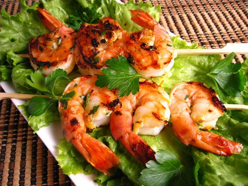 Orange Chipotle Marinated Shrimp
