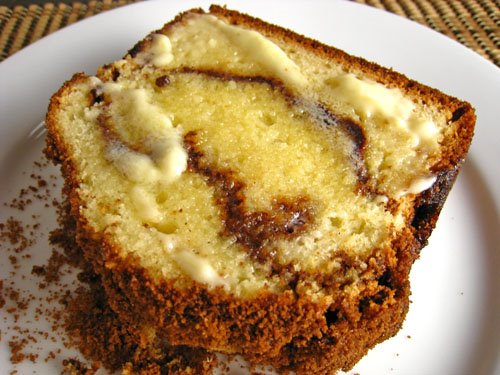 Cinnamon Bread: Slice