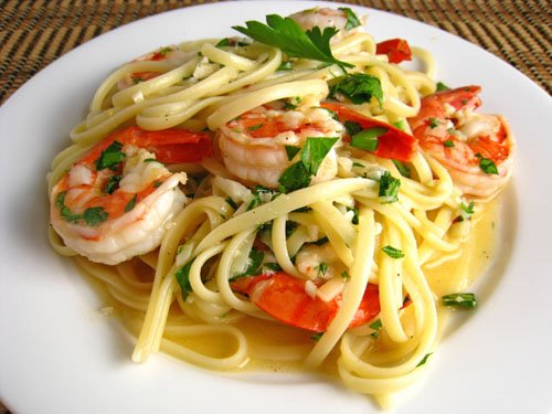 Shrimp and pasta easy recipes