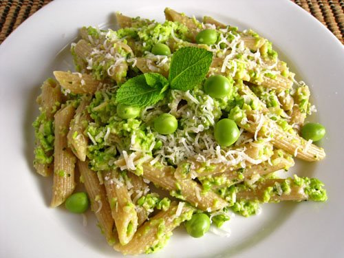 Penne alla Pea Pesto