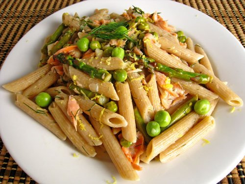 Smoked Salmon Pasta