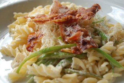 Pancetta and Bean Pasta
