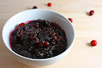 Pinot Noir Cranberry Sauce