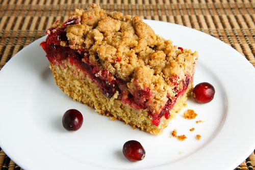 Cranberry Crumb Coffeecake