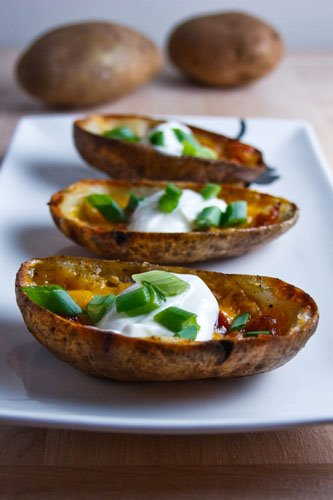 ... was thinking that potato skins would be nice i have had potato skins a
