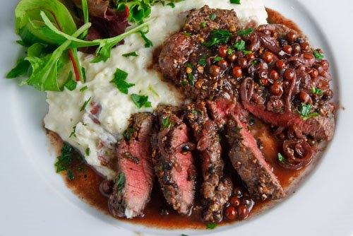 ... peppercorns and i enjoyed them in a steak with green peppercorn sauce