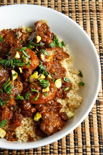 Apricot Lamb Tagine