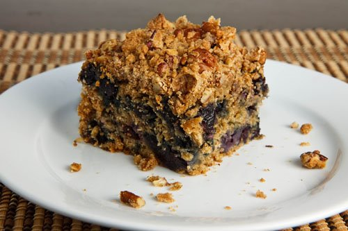 Blueberry Crumb Coffeecake on Closet Cooking