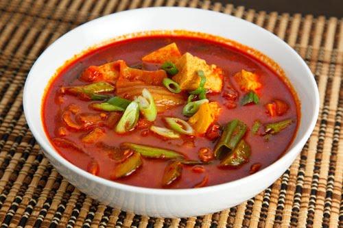 Kimchi Jjigae (Pork and Kimchi Stew) on Closet Cooking