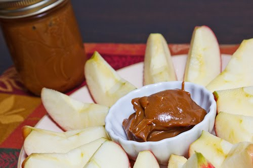 Dulce de Leche with Apples