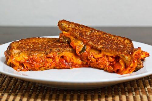 Kimchi Chicken Melt