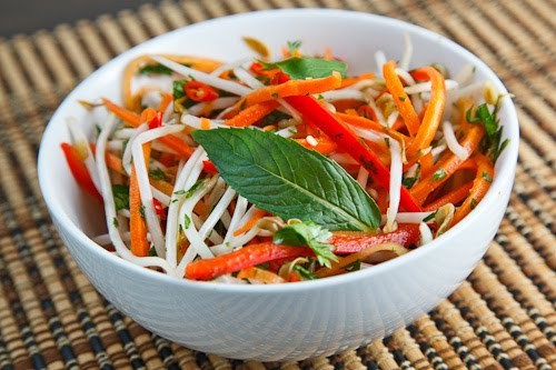 Thai Style Slaw on Closet Cooking