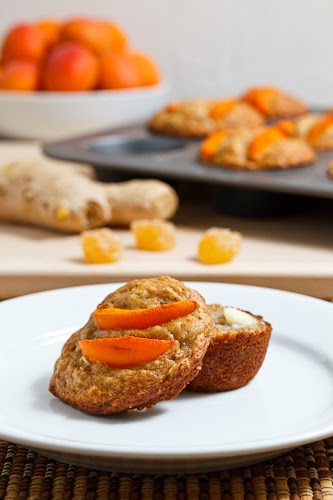 Apricot and Ginger Muffins