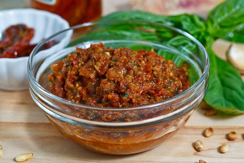 Sun Dried Tomato Pesto on Closet Cooking