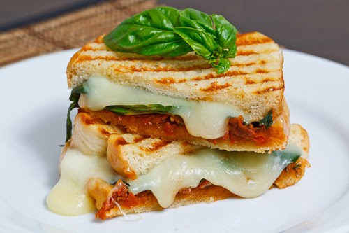 Sundried Tomato Pesto Grilled Cheese Sandwich on Closet ...