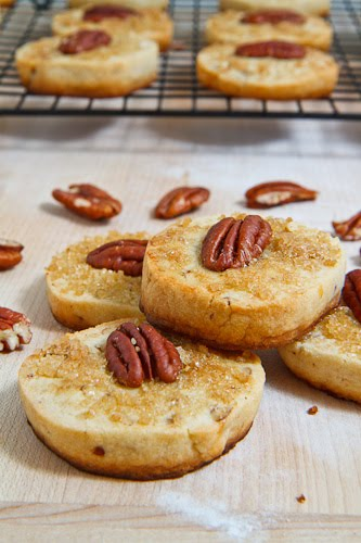 Maple Pecan Shortbread