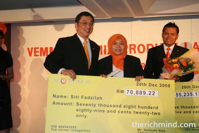 Jauh di Kedah juga berjaya, 6 bulan di VeMMA