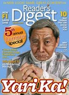 Michael V Reader's Digest Cover