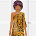 FREE Kinect Tiger Print Jungle Dress