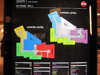 Sky City: Retail History: Haywood Mall: Greenville, SC