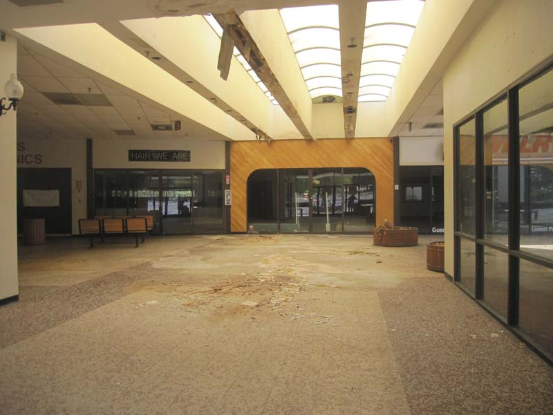 Note that the skylights are identical to those used at Eastland Mall over