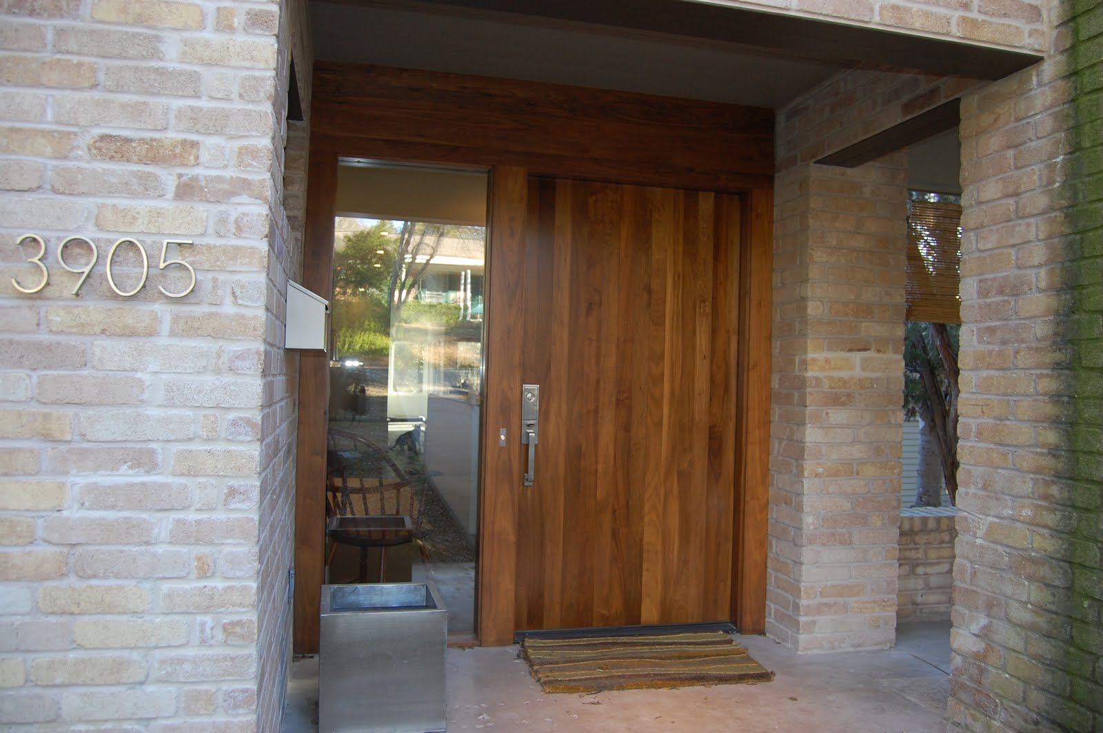 1064 #684426 Killer Custom Front Entry Door In Walnut By Grand Door Company pic Doors Entry 44411600