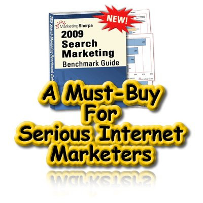 Search Marketing Benchmark Guide 2009, MarketingSherpa