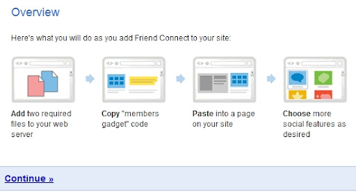 How to add Google Friend Connect to Blogger blogs