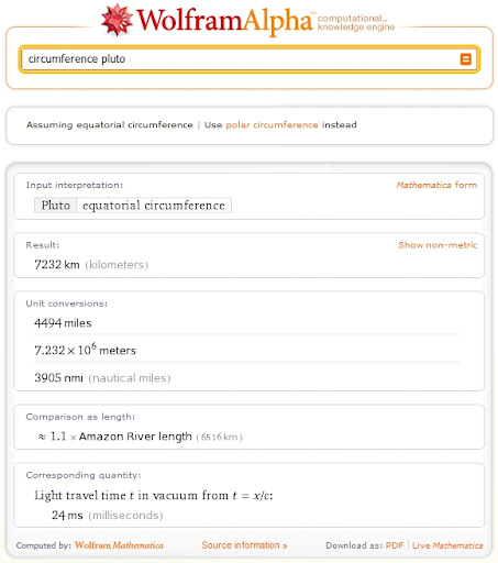Wolfram|Alpha is just a big Calculator, not Google Killer