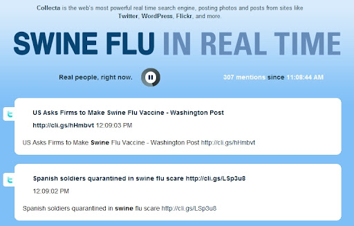 World's best real-time H1N1/Swine Flu news tracker