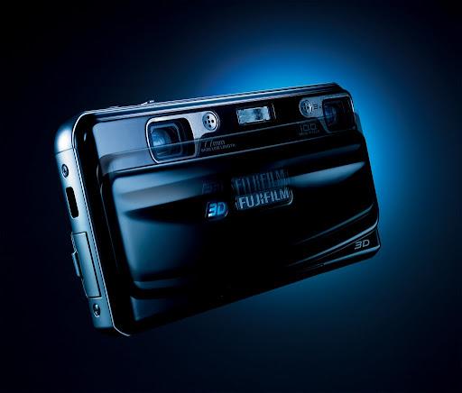 FUJIFILM FinePix Real 3D W1 camera shoots 10-megapixel 3D images