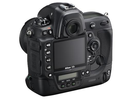 Nikon D3s - Back
