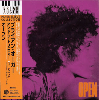 BRIAN AUGER & THE TRINITY - OPEN (MARMALADE 1968) Jap mastering cardboard sleeve + 4 bonus