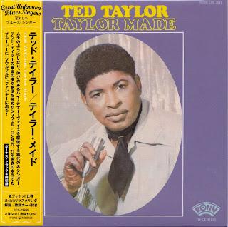 TED TAYLOR - TAYLOR MADE (RONN 1971) Jap mastering cardboard sleeve + 4 bonus