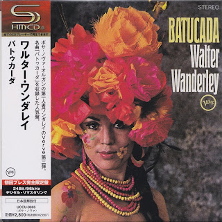WALTER WANDERLEY - BATUCADA (VERVE 1967) Jap mastering cardboard sleeve