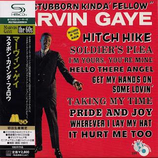MARVIN GAYE - THAT STUBBORN KINDA FELLA (TAMLA 1962) Jap mastering cardboard sleeve