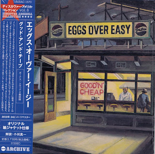 EGGS OVER EASY - GOOD N' CHEAP (A&M 1972) Jap mastering cardboard sleeve + 4 bonus