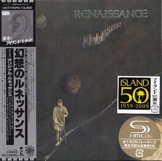 RENAISSANCE - ILLUSION (ISLAND 1971) Jap mastering cardboard sleeve + 4 bonus