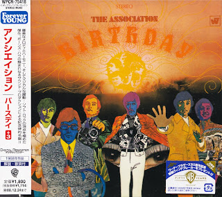 ASSOCIATION - BIRTHDAY (WARNER BROS 1968) Jap mastering + 3 bonus