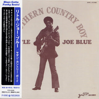 LITTLE JOE BLUE - SOUTHERN COUNTRY BOY (JEWEL 1971) Jap mastering cardboard sleeve + 8 bonus