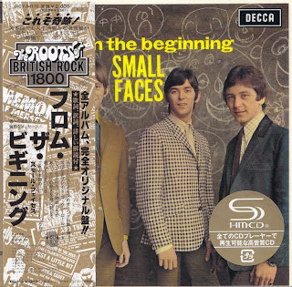 SMALL FACES - FROM THE BEGINNING (DECCA 1967) Jap DSD mastering cardboard sleeve + 14 bonus