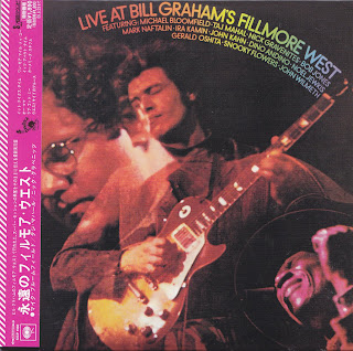 [REPOST] LIVE AT BILL GRAHAM'S FILLMORE WEST (COLUMBIA 1969) Jap mastering cardboard sleeve + 2 bonus