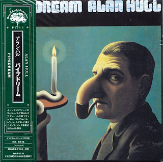 ALAN HULL - PIPEDREAM (CHARISMA 1973) Jap mastering cardboard sleeve