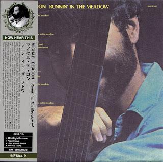 MICHAEL DEACON - RUNNIN' IN THE MEADOW (MUSTARDSEED 1975) Jap/Korean mastering cardboard sleeve + 4 bonus
