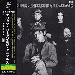 ERIC BURDON & THE ANIMALS - EVERY ONE OF US (MGM 1968) Jap mastering cardboard sleeve + 1 bonus