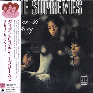 SUPREMES - I HEAR A SYMPHONY (MOTOWN 1966) Jap mastering cardboard sleeve