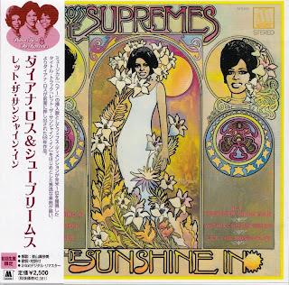 DIANA ROSS & THE SUPREMES - LET THE SUNSHINE IN (MOTOWN 1969) Jap mastering cardboard sleeve