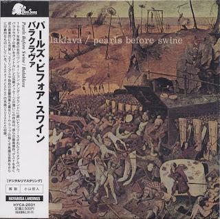PEARLS BEFORE SWINE - BALAKLAVA (ESP 1968) Jap mastering cardboard sleeve